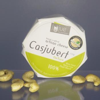 artisan plant-based vegan Brie style cheese Casjubert-1 NaTure